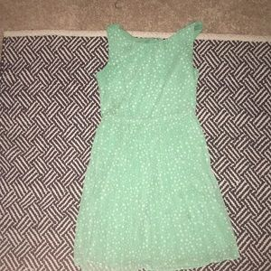 Gap pokadot dress. Worn once